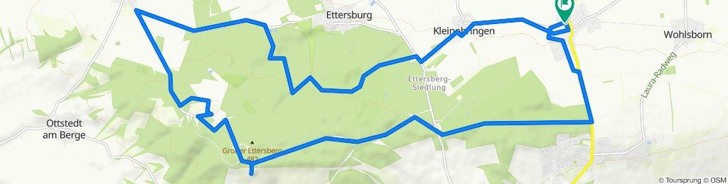 Entspannende Route in Großobringen