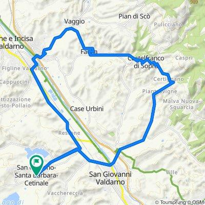 Da Via Mulinaccio 461, Santa Barbara a Via Mulinaccio 461, Santa Barbara