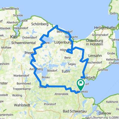 HOLSTEIN - koningsrit - 180 km