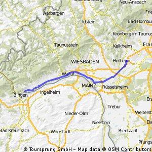 103 Km Rüdesheim- Tour