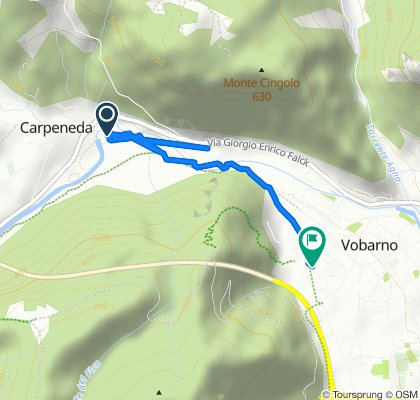 Da SPiv 5, Carpeneda a Via Casello 16, Vobarno