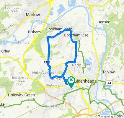62 Clare Road, Maidenhead to 62 Clare Road, Maidenhead