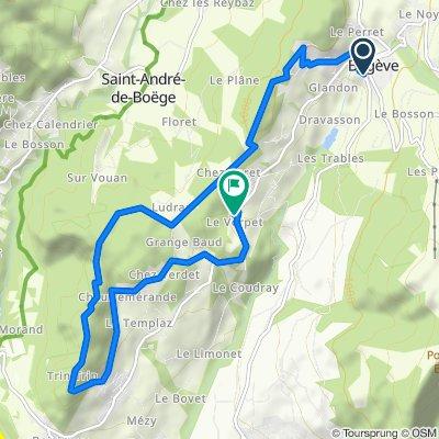 Itinéraire modéré en Viuz-en-Sallaz