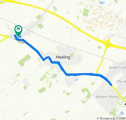 49 Leggott Way, Grimsby to 48 Leggott Way, Grimsby