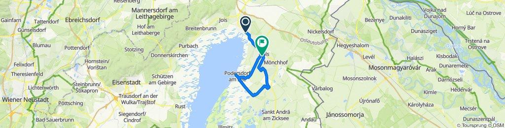 Überschallgeschwindigkeitsfahrt in Neusiedl am See