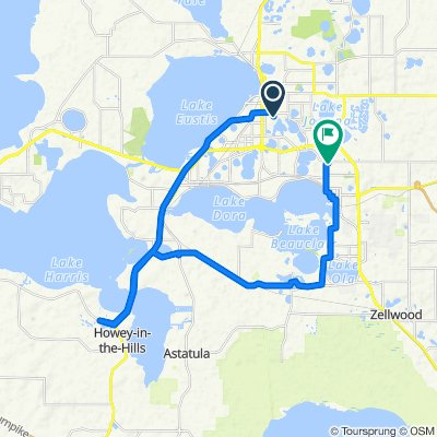 High-speed route in Eustis