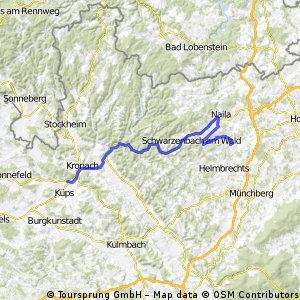 Vom Südtor des Frankenwaldes zum Döbraberg