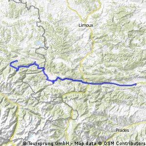Pyrenäen 2000 Etappe 15