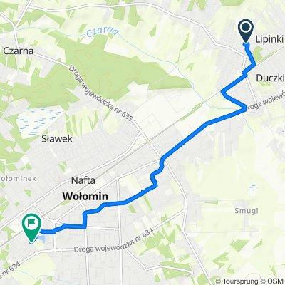 Powolna trasa w Wołomin