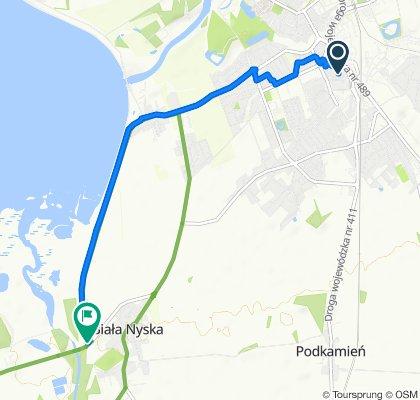 Powolna trasa w Biała Nyska