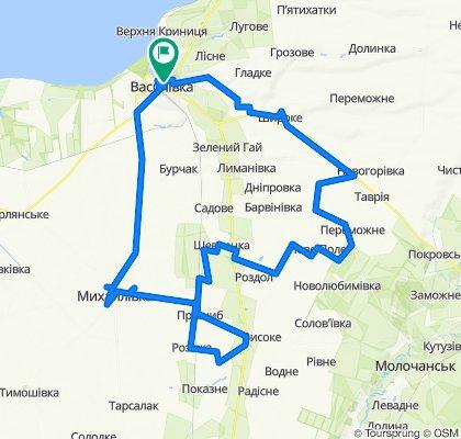 Na jug ot Vasilevki