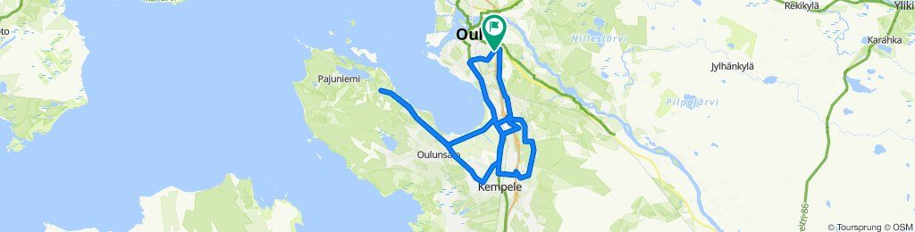 Karjaportintie 44, Oulu to Karjaportintie 44, Oulu