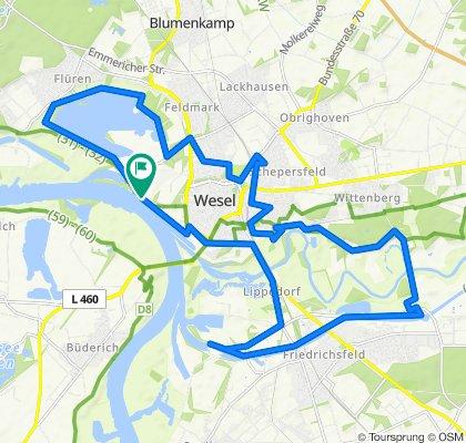 Wesel Rhein-Lippe-Weg
