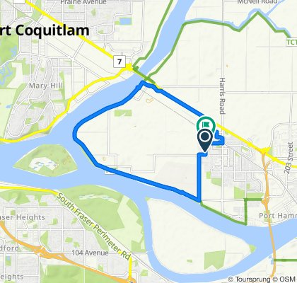 High-speed route in Pitt Meadows