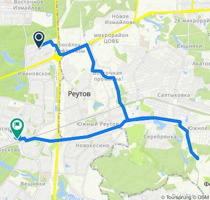 Дожливо майские велоездки - из Салтыковки в Новогиреево (ч1) 07 05 2020