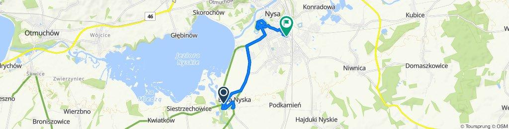 Spokojna trasa do Nysa