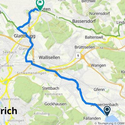 Seeweg, Schwerzenbach do Kloten