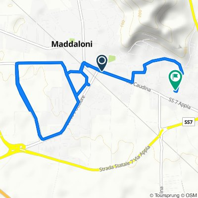 Percorso riposante in Maddaloni