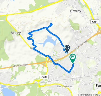 Easy ride in Farnborough