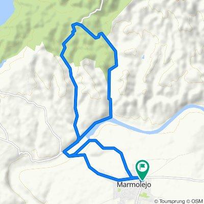 Paseo rápido en Marmolejo
