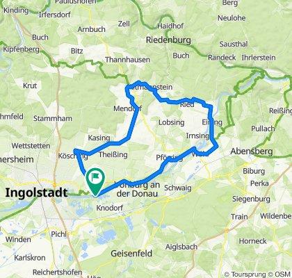 Gefahren 8.05.2020 Großmehring-Altmannstein-Neustadt a d Donau-Vohburg