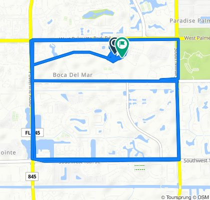 Restful route in Boca Raton
