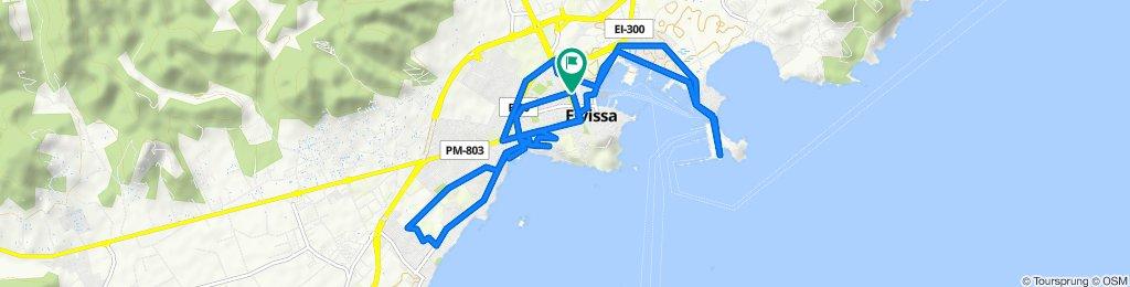 Ruta tranquila en Ibiza