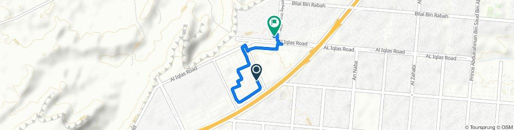Route to 7333 شارع جبل المكبر, الرياض