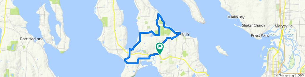 Relaxed route in Langley