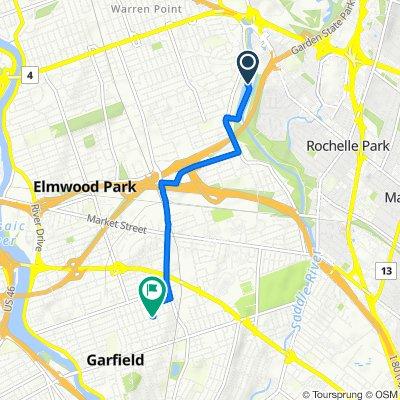 Restful route in Garfield