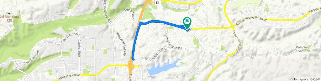 Scripps Poway to interstate bike path