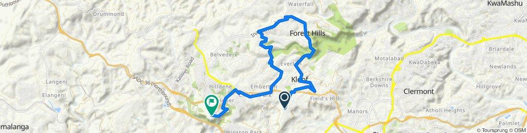 Kloof Hill ride 1