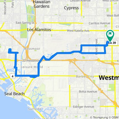 7852 Santa Catalina Ave, Stanton to 7852 Santa Catalina Ave, Stanton