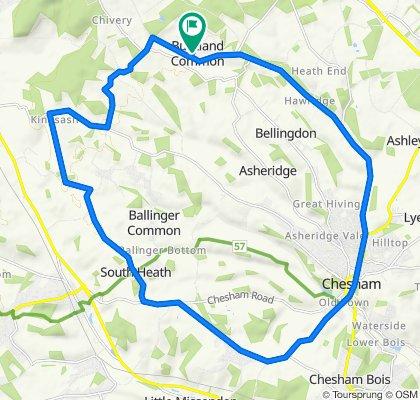 Home, Lee, Chesham, Home, 26km