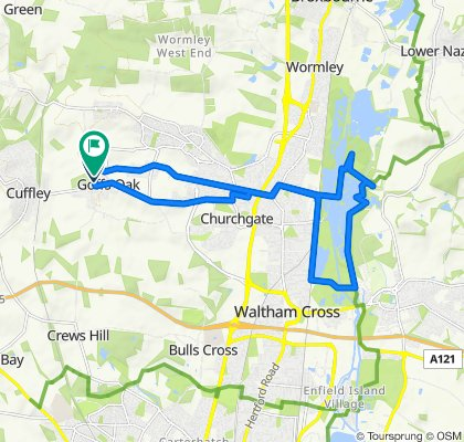 Goff's oak to lea valley