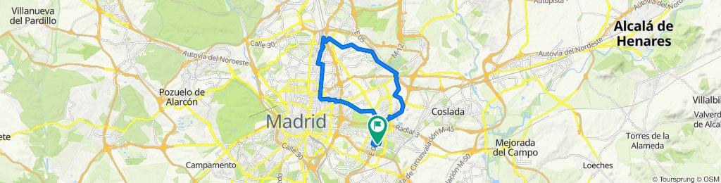 Ruta relajada en Madrid