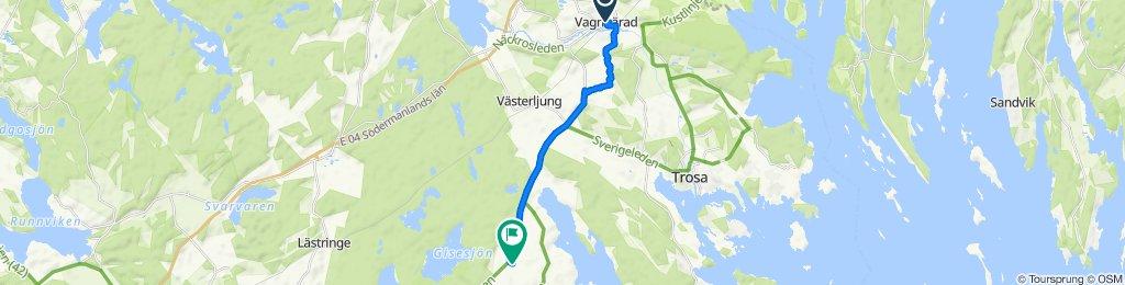 Vagnhärad till Bergs Gård: Gårdscafé & butik, Mountainbike, Boende och Relax