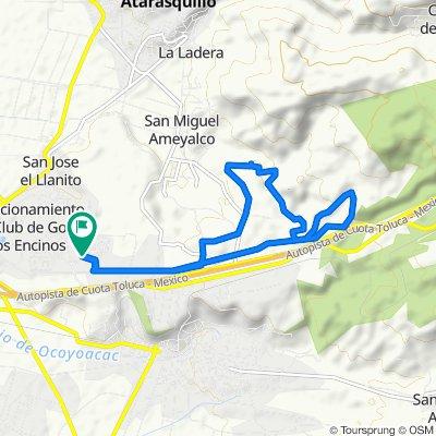 Slow ride in Ocoyoacac