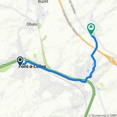 Route stable en Pont-à-Celles