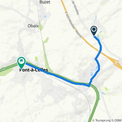 Itinéraire modéré en Pont-à-Celles
