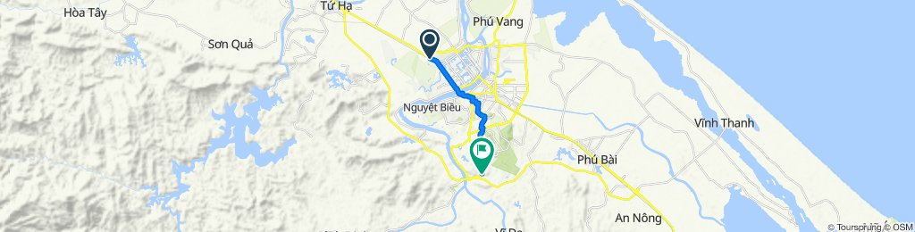 Culture Pham Travel to Minh Mang Tomb