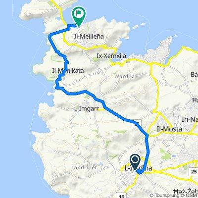Restful route in Mellieha