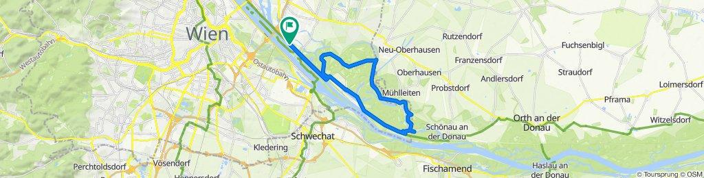 Entspannende Route in Wien