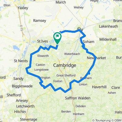 Cambridge Century Lap