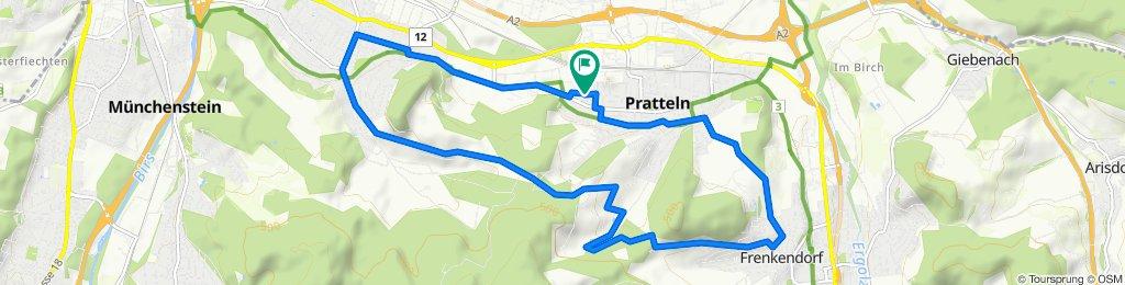 Moderate Route in Pratteln