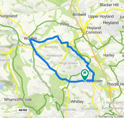 3 Hunshelf Road, Sheffield to 8 Hunshelf Road, Sheffield