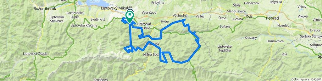Trasa/Route X | mtbliptov.bike