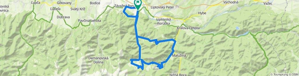 Trasa/Route 13 | mtbliptov.bike