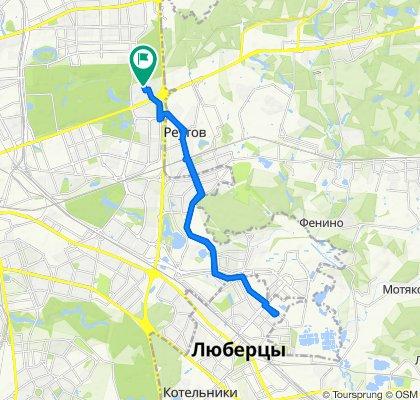 Велодоставка документов в Люберцы! 08 05 2020