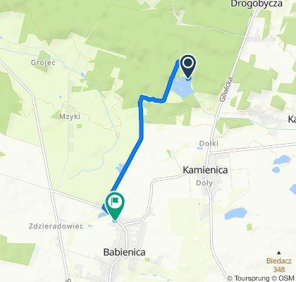 Powolna trasa w Lubsza
